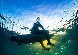 Reflexos surfista underwater