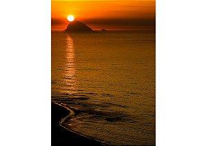 Nascer do sol na praia da Barra da Tijuca, Rio de Janeiro
