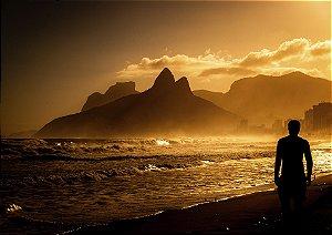 Praia de Ipanema vista do Arpoador