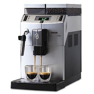 Máquina de café Saeco Lirika Plus Silver / Black 220v