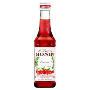 Xarope Monin Cranberry 250ml