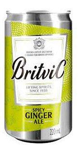 Água Tônica Britvic Ginger 220ml Lata