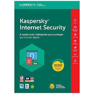 Kaspersky Internet Security - 3 Dispositivos, 1 ano - 2021 - (Frete Grátis - Envio Digital)