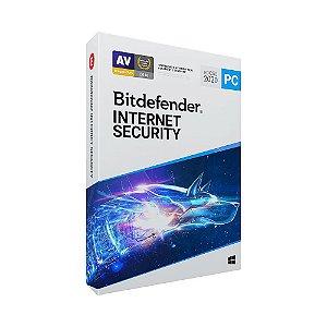 Bitdefender Internet Security 2021 - 5 dispositivos, 1 ano (Frete Grátis - Envio Digital)