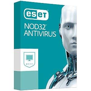 ESET Antivirus NOD32 - 3 PC - 1 Ano - 2020 - (Frete Grátis - Envio Digital)