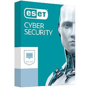 ESET Cyber Security - 3 dispositivos - 1 Ano - 2020 - (Frete Grátis - Envio Digital)