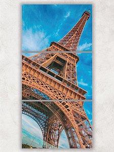 Tela Mosaico Torre Elffel