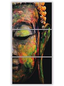 Tela Mosaico Buda