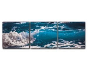 Tela Mosaico onda Azul