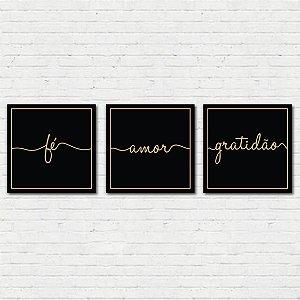 Composição Fé, Amor, Gratidão