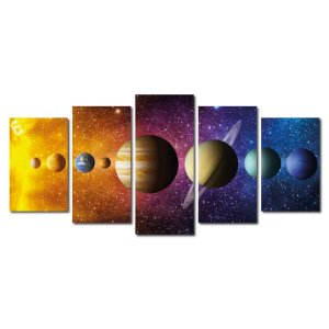 Sistema Solar (Mosaico 5 peças)