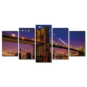 Ponte do Brooklin (Mosaico 5 peças)