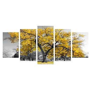 Árvore da Vida - Amarela (Mosaico 5 peças)