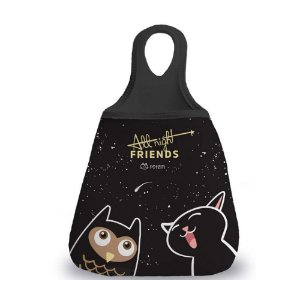 Lixeira para carro Gatos All Night Friends