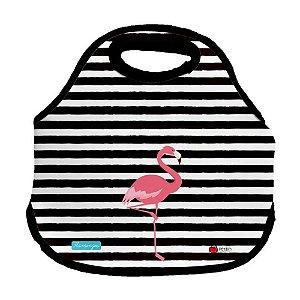 Bolsa Lancheira - Flamingos