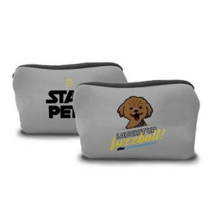 Necessaire Star Pet Cinza