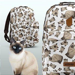 Mochila Usthemp - Gato Siamês