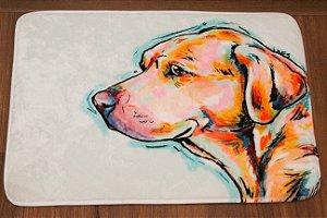 Tapete Para Banheiro Cachorro Labrador