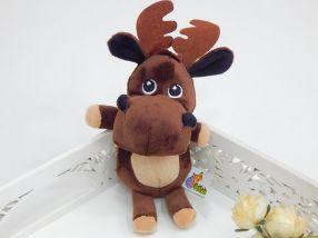 Brinquedo Pet Pelúcia Veado Marrom
