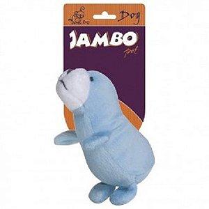 Brinquedo Pet Pelúcia Foquinha - Coleção Zoo