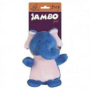 Brinquedo Pet Pelúcia Elefantinho - Coleção Zoo