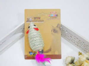 Cat Mouse Sisal e Penas