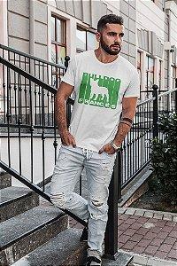 Camiseta Buldogue Francês Listrado