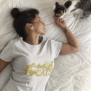 Baby Look Eu Amo Gatos