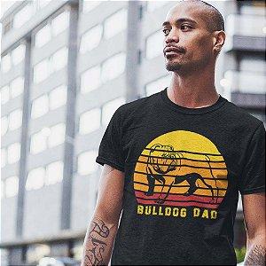 Camiseta Pai de Bulldog