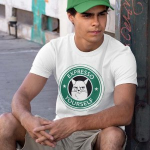 Camiseta Gato Expresso Yourself