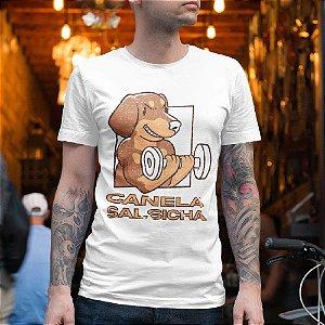 Camiseta Cachorro Salsicha Maromba