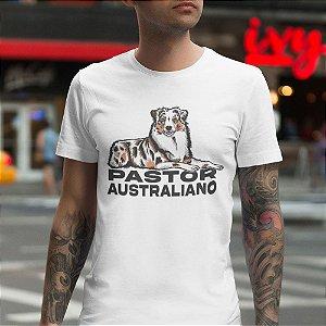Camiseta Cachorro Pastor Australiano