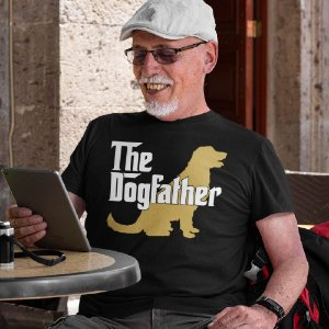 Camiseta The Dogfather Golden Retriever