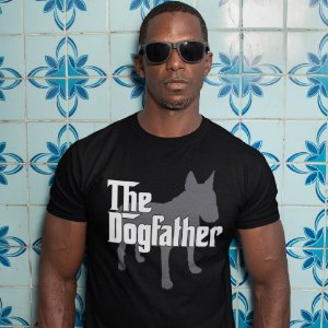 Camiseta The Dogfather Bull Terrier
