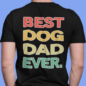 Camiseta Best Dog Dad Ever