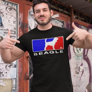 Camiseta Beagle Baseball