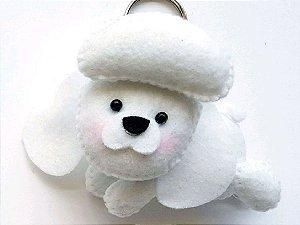 Chaveiro Poodle em Feltro