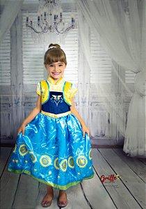 Vestido Frozen Ana