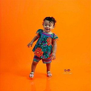 Conjunto Baby Flores Nanai