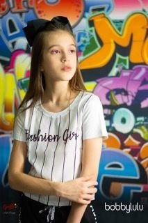 Camiseta Fashion Girl Bobbylulu