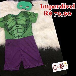 Macacão Fantasia Hulk