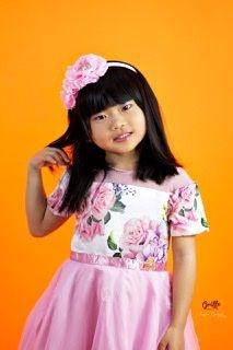Vestido de Rosas Luluzinha