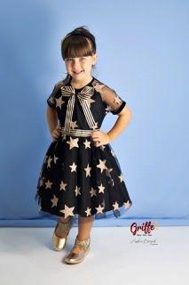 Vestido de Tule Estrela Luluzinha