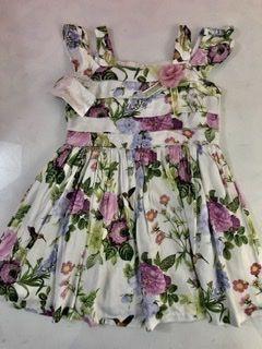 Vestido Florido Matinée