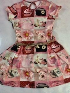Vestido Phone Matinée