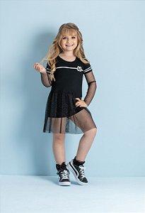 Vestido Black And White Hi! Angel