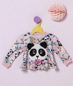 Blusa Baby Panda Mon Sucré