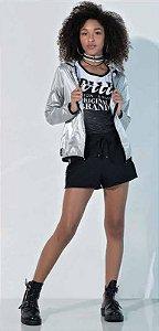 Jaqueta Metalizada em bolsa Collie
