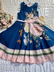 Vestido Petit Cherie Estampado