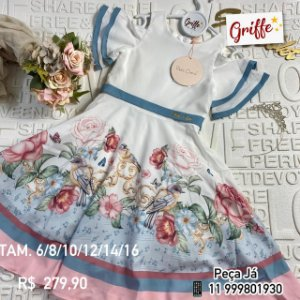 Vestido Sound Of Birds Petit Cherie